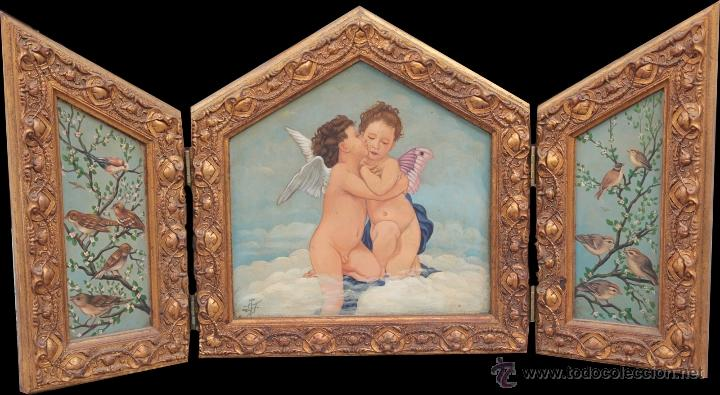 AMORCILLOS TRIPTICO (Arte - Arte Religioso - Trípticos)