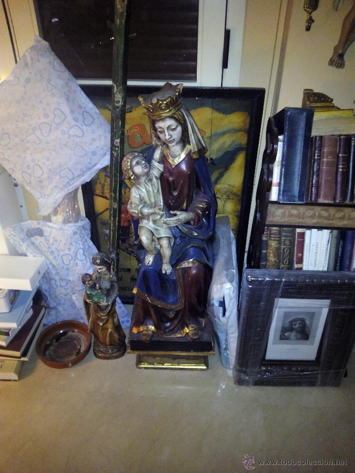 Arte: virgen con niño 2 - Foto 7 - 25052432