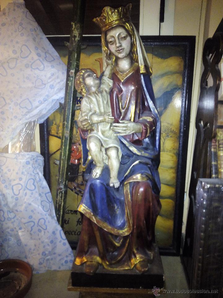 Arte: Virgen con niño 4 - Foto 9 - 25052432