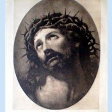 Arte: GRAN GRABADO A LA MADERA POR RENI DE LA OBRA -ECCE HOMO- DE GUIDO RENI FEC (BOLONIA 1575-1642).FDO.. Lote 48695805