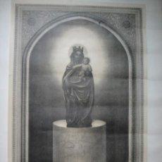 Arte: LITOGRAFIA DE LA VIRGEN DEL PILAR. Lote 48737363