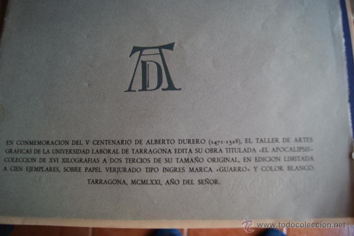 Arte: ALBERTO DURERO EL APOCALIPSIS 1971 FACSIMIL - Foto 3 - 48772570