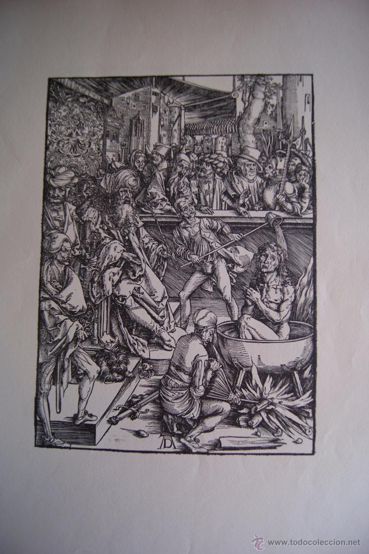 Arte: ALBERTO DURERO EL APOCALIPSIS 1971 FACSIMIL - Foto 4 - 48772570