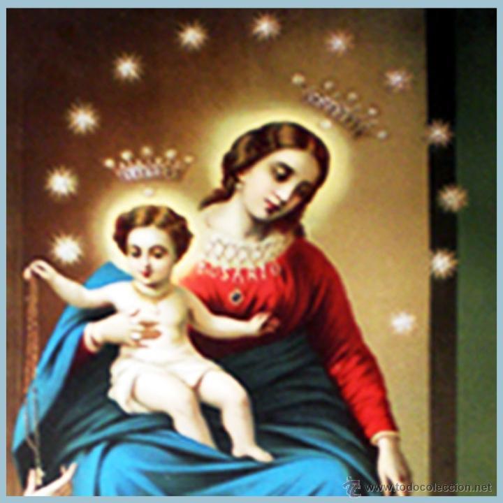 Arte: Parte central de Madonna di Pompey - Foto 4 - 48525534