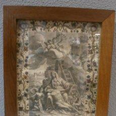 Arte: ANTIGUO GRAVADO-FIRMADO MÓLES BARCELONA 1782-NUESTRA SEÑORA DE LOS DOLORES-PIEZA DE COLECCIÓN.. Lote 49287568