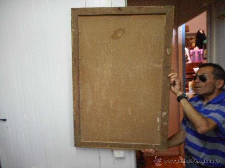 Arte: gran copia o litografia cristo crucificado de velazquez supongo siglo XIX firmado - Foto 10 - 49326624