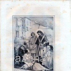 Arte: LITOGRAFIA DEL SIGLO XIX DE SAN CARLOS BORROMEO, LIT.DE J.DONON , 160X210MM. Lote 49345014