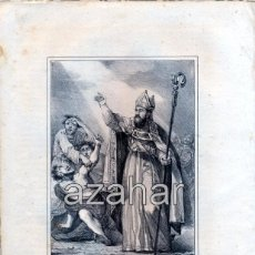 Arte: LITOGRAFIA DEL SIGLO XIX DE SAN ELOY, A.GOMEZ INVº Y LITº. LITª DE BACHILLER, 160X210MM. Lote 49353027