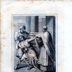 Arte: LITOGRAFIA DEL SIGLO XIX DE SAN GREGORIO TAUMATURGO OBISPO,LOZANO LITº. LIT DE J.DONON, 160X210MM. Lote 49353241