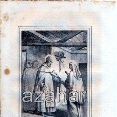 Arte: LITOGRAFIA DEL SIGLO XIX DE SAN JUAN DE LA CRUZ,LOZANO LITº. LIT DE J.DONON, 160X210MM. Lote 49374610