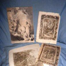 Arte: ANTIGUOS GRABADOS RELIGIOSOS SIGLO XVIII.. Lote 49387507