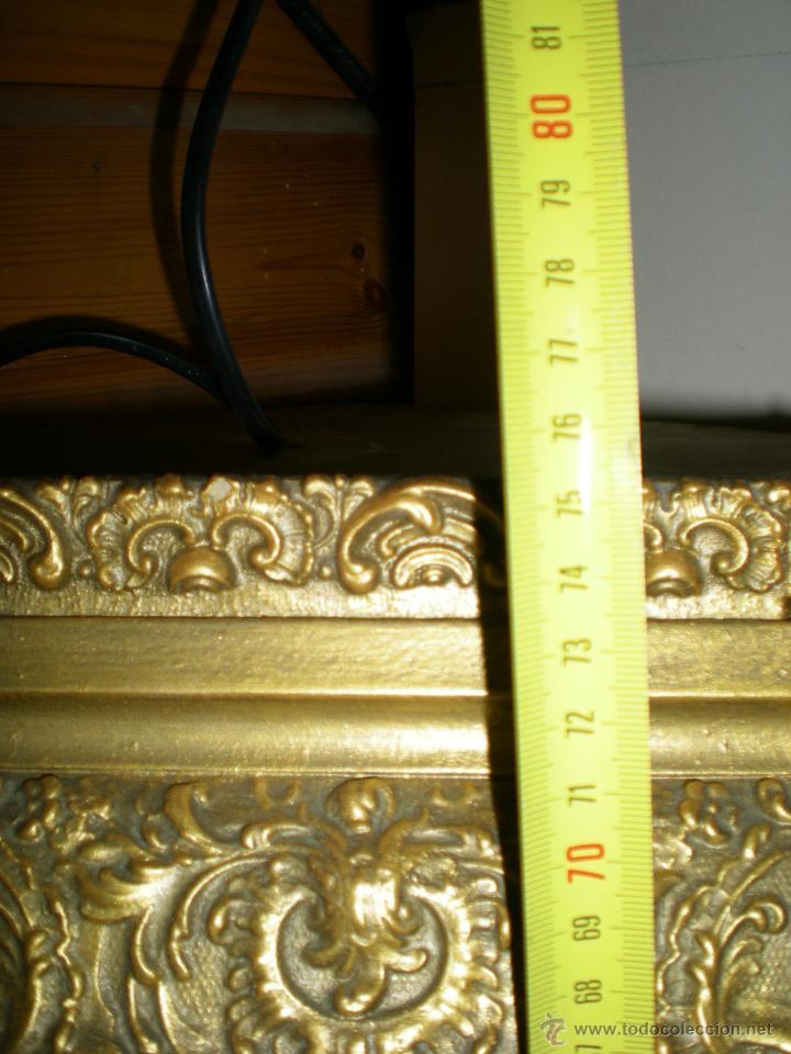 Arte: preciosa capilla antigua de madera tejido pasamanería metálica oro con iluminación siglo XVIII. - Foto 33 - 49418467