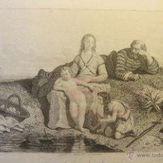 Arte: LA INFANCIA DE JESUCRISTO. PAPEL 20 X 28 CM. IMAGEN 11,5 X 18,5 CM. Lote 49529235