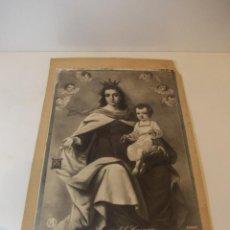 Arte: PRECIOSA Y ESPECTACULAR LITOGRAFIA ILUMINDADA DEL SIGLO XIX. EN CARTON DURO. DE EXCELENTE CALIDAD. . Lote 49619767