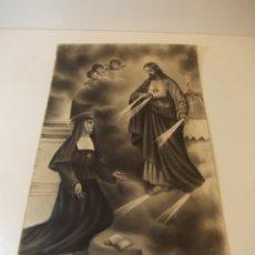 Arte: PRECIOSA Y ESPECTACULAR LITOGRAFIA ILUMINDADA DEL SIGLO XIX. EN CARTON DURO. DE EXCELENTE CALIDAD.. Lote 49619874