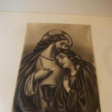 Arte: PRECIOSA Y ESPECTACULAR LITOGRAFIA DEL SIGLO XIX. EN CARTON DURO. DE EXCELENTE CALIDAD.. Lote 49620511