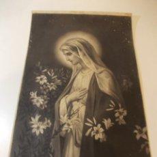 Arte: PRECIOSA Y ESPECTACULAR LITOGRAFIA ILUMINADA DEL SIGLO XIX. EN CARTON DURO. DE EXCELENTE CALIDAD.. Lote 49620876