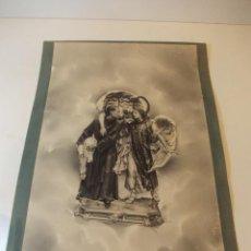Arte: PRECIOSA Y ESPECTACULAR LITOGRAFIA ILUMINADA DEL SIGLO XIX. EN CARTON DURO. MEDIDAS 40 X 33 CM. Lote 49621249