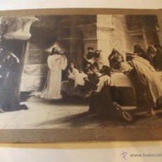 Arte: PRECIOSA Y ESPECTACULAR LITOGRAFIA DEL SIGLO XIX. EN CARTON DURO.MEDIDAS 49 X 65 CM. Lote 49631052