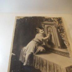 Arte: PRECIOSA Y ESPECTACULAR LITOGRAFIA DEL SIGLO XIX. EN CARTON DURO. MEDIDAS 20 X 2 CM. Lote 49632513