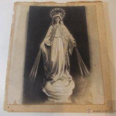 Arte: PRECIOSA Y ESPECTACULAR LITOGRAFIA DEL SIGLO XIX. EN CARTON DURO.MEDIDAS 26,5 X 31,5. Lote 49632573