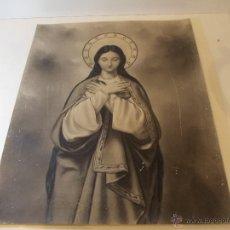 Arte: PRECIOSA Y ESPECTACULAR LITOGRAFIA DEL SIGLO XIX. EN CARTON DURO. MEDIDAS 48 X 60 CM. Lote 49632800