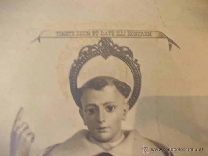 Arte: PRECIOSA Y ESPECTACULAR LITOGRAFIA ILUMINADA DEL SIGLO XIX. EN CARTON DURO. MEDIDAS 46,5 X 63 CM - Foto 2 - 49632855