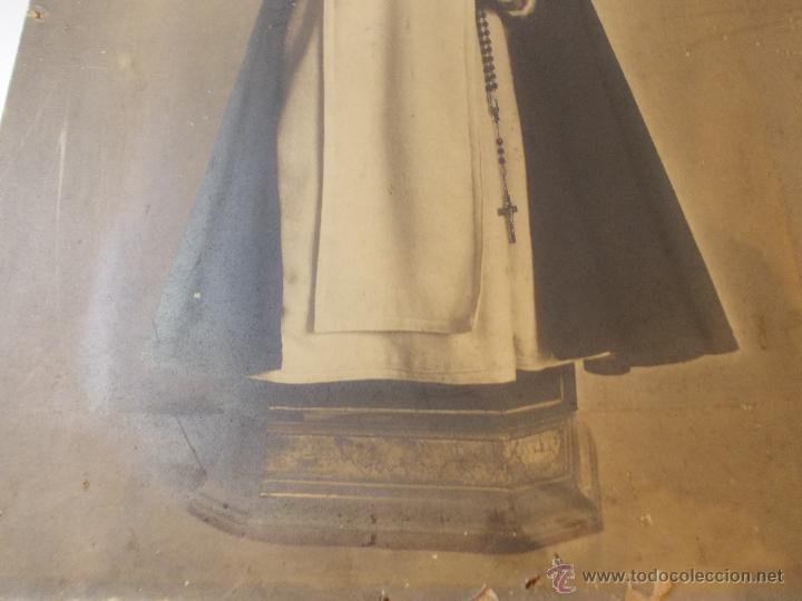 Arte: PRECIOSA Y ESPECTACULAR LITOGRAFIA ILUMINADA DEL SIGLO XIX. EN CARTON DURO. MEDIDAS 46,5 X 63 CM - Foto 5 - 49632855