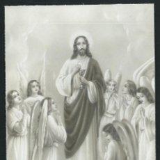 Arte: DIBUJO ORIGINAL DE ESTAMPA RELIGIOSA. . Lote 49637612