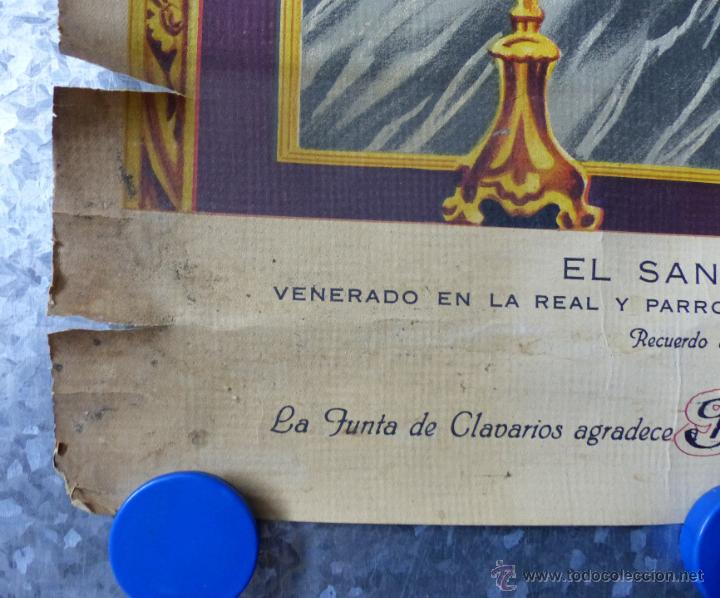 Arte: EL SANTISIMO CRISTO DE LA FE, RECUERDO DE SU CORONACION, MAYO DE 1955, IGLESIA SANTA MONICA VALENCIA - Foto 4 - 49645235