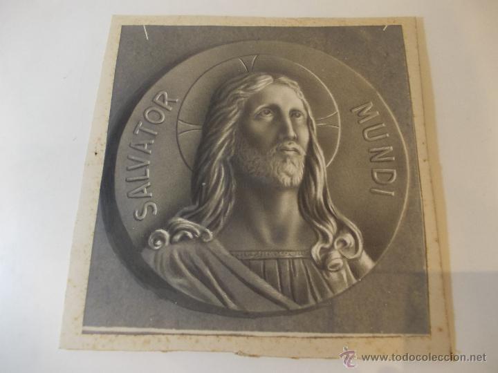 PRECIOSA Y ESPECTACULAR LITOGRAFIA DEL SIGLO XIX. EN CARTON DURO. DE EXCELENTE CALIDAD. (Arte - Arte Religioso - Litografías)