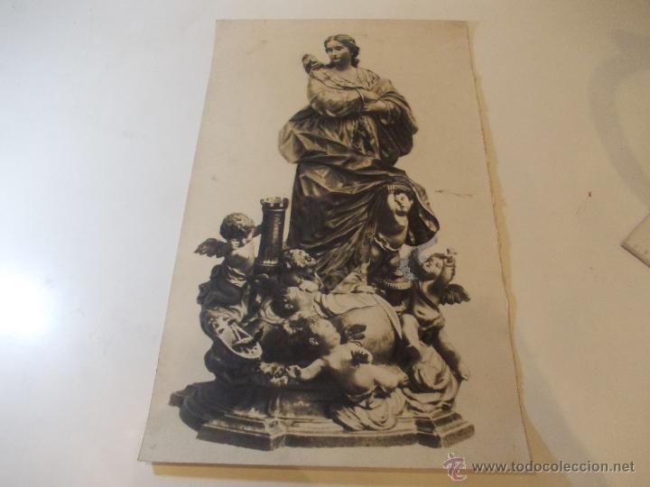 PRECIOSA Y ESPECTACULAR LITOGRAFIA DEL SIGLO XIX. EN CARTON DURO. DE EXCELENTE CALIDAD. 29,5 X 49,5 (Arte - Arte Religioso - Litografías)