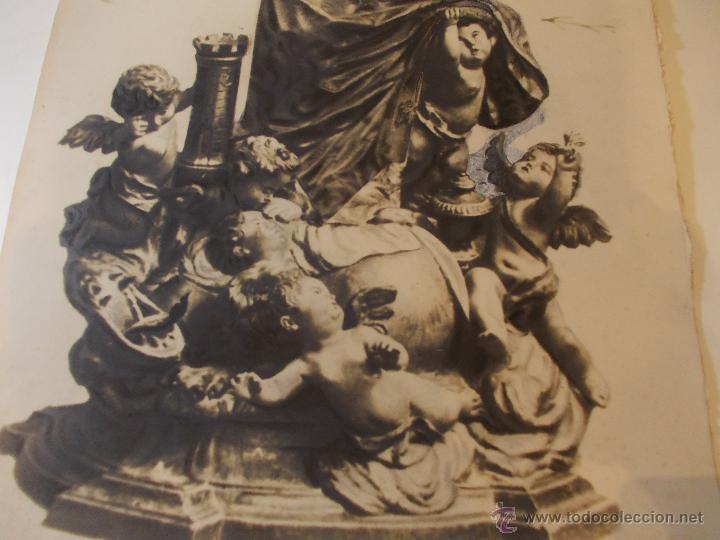 Arte: PRECIOSA Y ESPECTACULAR LITOGRAFIA DEL SIGLO XIX. EN CARTON DURO. DE EXCELENTE CALIDAD. 29,5 X 49,5 - Foto 2 - 49647668