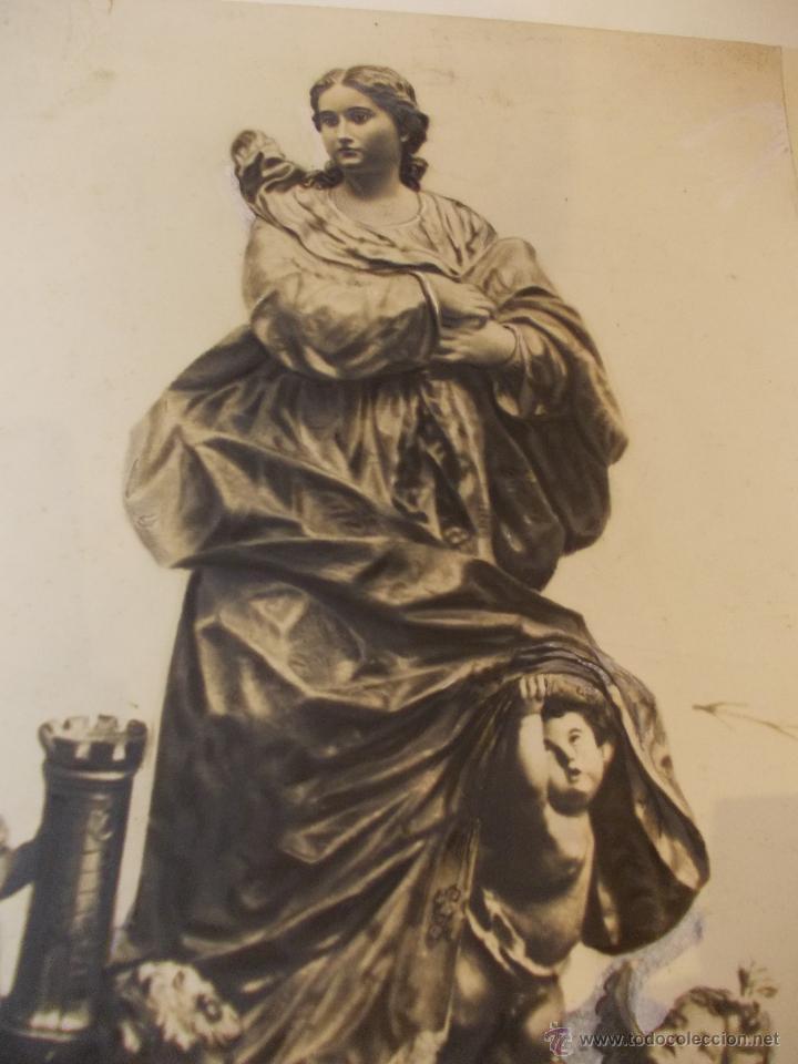 Arte: PRECIOSA Y ESPECTACULAR LITOGRAFIA DEL SIGLO XIX. EN CARTON DURO. DE EXCELENTE CALIDAD. 29,5 X 49,5 - Foto 3 - 49647668