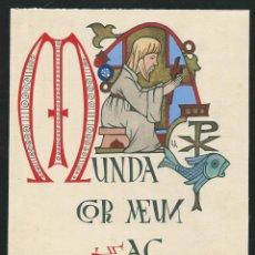 Arte - Dibujo original de Estampa Religiosa. Firmado. - 49651611