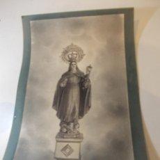 Arte: PRECIOSA Y ESPECTACULAR LITOGRAFIA ILUMINADA DEL SIGLO XIX. EN CARTON DURO. DE EXCELENTE CALIDAD. Lote 49691940