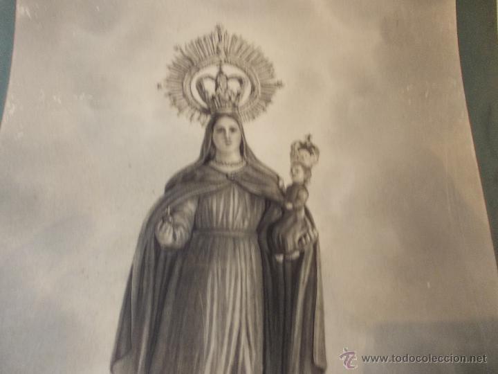 Arte: PRECIOSA Y ESPECTACULAR LITOGRAFIA ILUMINADA DEL SIGLO XIX. EN CARTON DURO. DE EXCELENTE CALIDAD - Foto 2 - 49691940