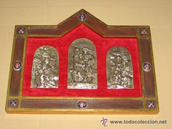 TRÌPTICO DE LA NATIVIDAD (Arte - Arte Religioso - Trípticos)