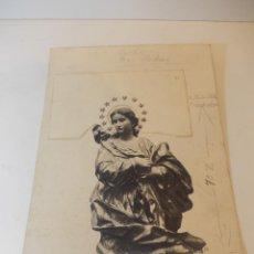 Arte: PRECIOSA Y ESPECTACULAR LITOGRAFIA DEL SIGLO XIX. EN CARTON DURO. DE EXCELENTE CALIDAD. Lote 49691991