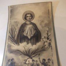 Arte: PRECIOSA Y ESPECTACULAR LITOGRAFIA DEL SIGLO XIX. EN CARTON DURO. DE EXCELENTE CALIDAD. Lote 49692020