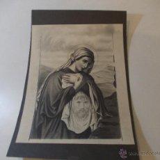 Arte: PRECIOSA Y ESPECTACULAR LITOGRAFIA DEL SIGLO XIX. EN CARTON DURO. DE EXCELENTE CALIDAD. Lote 49692042