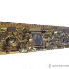 Arte: FRISO DORADO SIGLO XVII PROCEDENTE DE LA CASA NATAL DE SAN IGNACIO DE LOYOLA. Lote 49732944