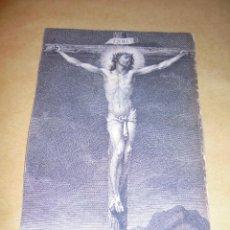 Arte: ANTIGUO GRABADO S. XVIII - CRISTO . 18X12 CM. . Lote 49755533