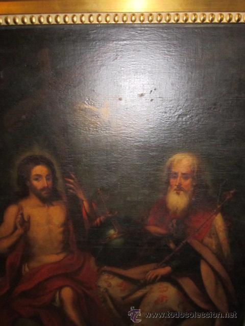 Arte: Óleo sobre lienzo - Santos - del S. XVIII aprox. Lienzo: 91,5 x 124 cms. - Foto 3 - 49993939