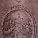 Arte: ANTIGUO GRABADO RELIGIOSO. SIGLO XVIII.. Lote 50130261