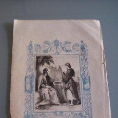 Arte: LITOGRAFÍA - JESUS Y LA SAMARITANA. Lote 50349539