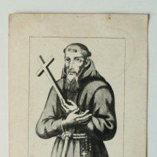 Arte: GRABADO ANTIGUO DE DEL PADRE GIACINTO NATTA DA CASALMONFERRATO, MUERTO EN 1627. Lote 50390440