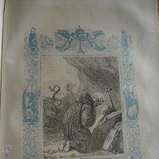 Arte: GRABADO RELIGIOSO DEL AÑO 1852 - 26X16,5 IMAGEN RELIGIOSA .- SAN PEDRO CELESTINO PAPA Y CONFESOR. Lote 50406396