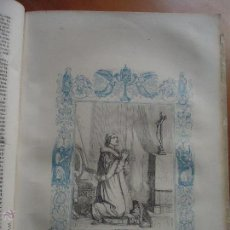 Arte: GRABADO RELIGIOSO DEL AÑO 1852 - 26X16,5 IMAGEN RELIGIOSA .- SAN PIO V PAPA. Lote 50407474