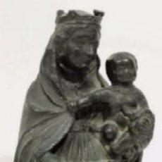 Arte: VIRGEN CON NIÑO - IMAGEN RELIGIOSA EN BRONCE ESCUELA ESPAÑOLA SIGLO XIX. Lote 50415610